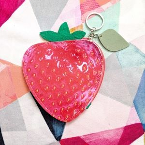 🆕 Fruit Coin Purse - Strawberry 🍓